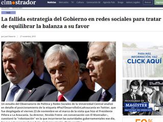 El Mostrador | La fallida estrategia del Gobierno en redes sociales para tratar de equilibrar la bal