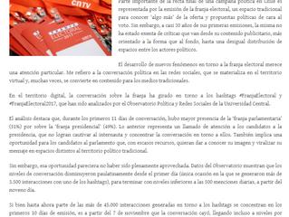 """Gran Valparaíso I Opinion """"Agotados de la franja electoral"""""""