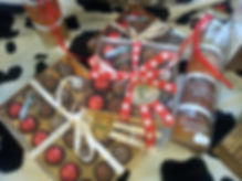 cadeau de Noël boîte de chocolat