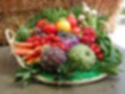 légumes variés, colorés, artichaux, tomate peretti, brocoli, poivrons
