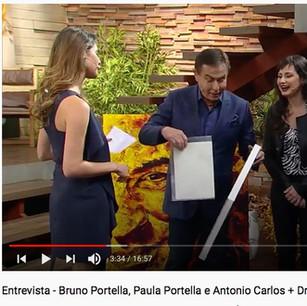 Entrevista Amaury Jr. Paula e Bruno Portella