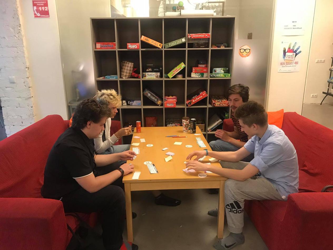 Gaming session at Kesklinna Noortekeskus (Estonia)