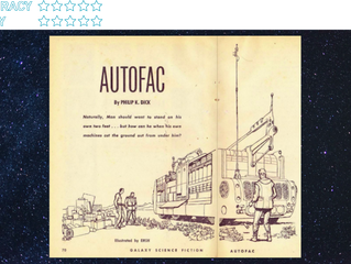 Autofac (short story, streaming episode): PDK meets Ayn Rand to create the factory of the future
