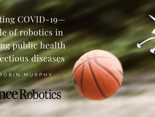 Combating COVID-19 with Robotics
