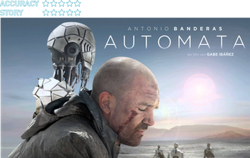 Automata (2014): A self-repairing robot is somehow a bad thing?