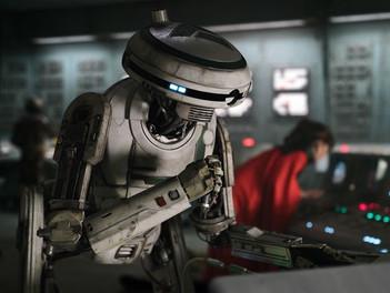 June 2018: Meet L3-37, an elite self-modifying robot in Solo: A Star Wars Story
