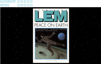 Peace on Earth (1987):  Using telerobotics to check in on a robot uprising on the Moon with Christop