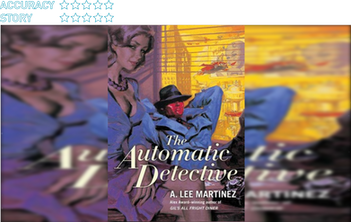 The Automatic Detective (2008):  A robot dexterously grasps the film noir detective genre