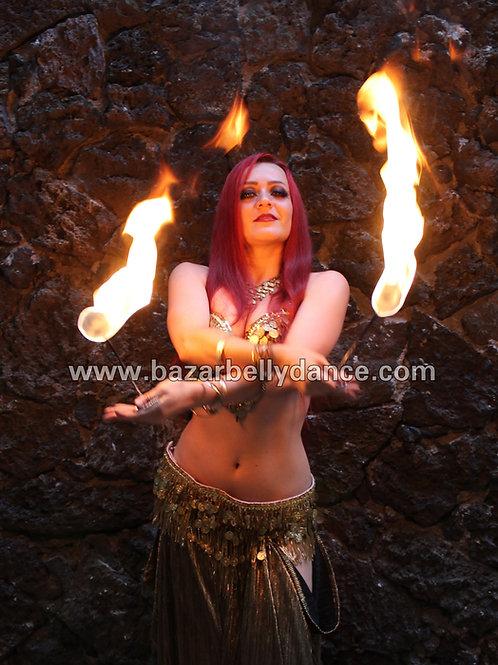 Palmas de fuego