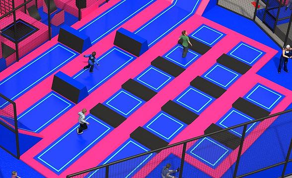 park trampolin zielona góra free jump st