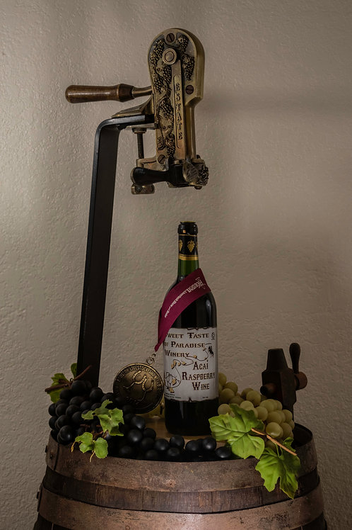 Acai Raspberry Wine