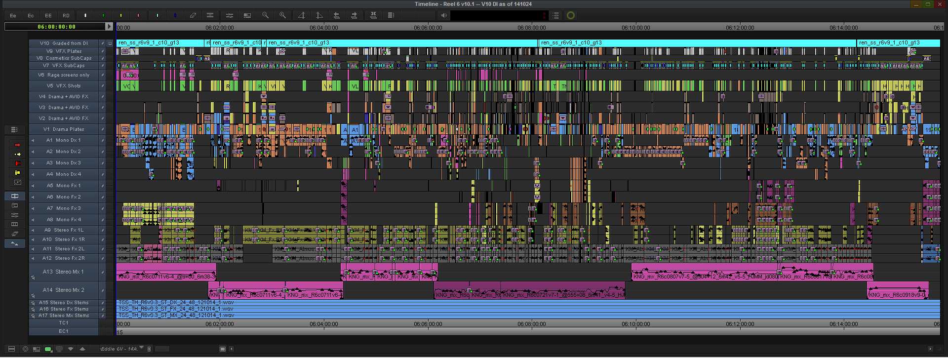 Kingsman-Final-Reel-6-Avid-MC-Timeline