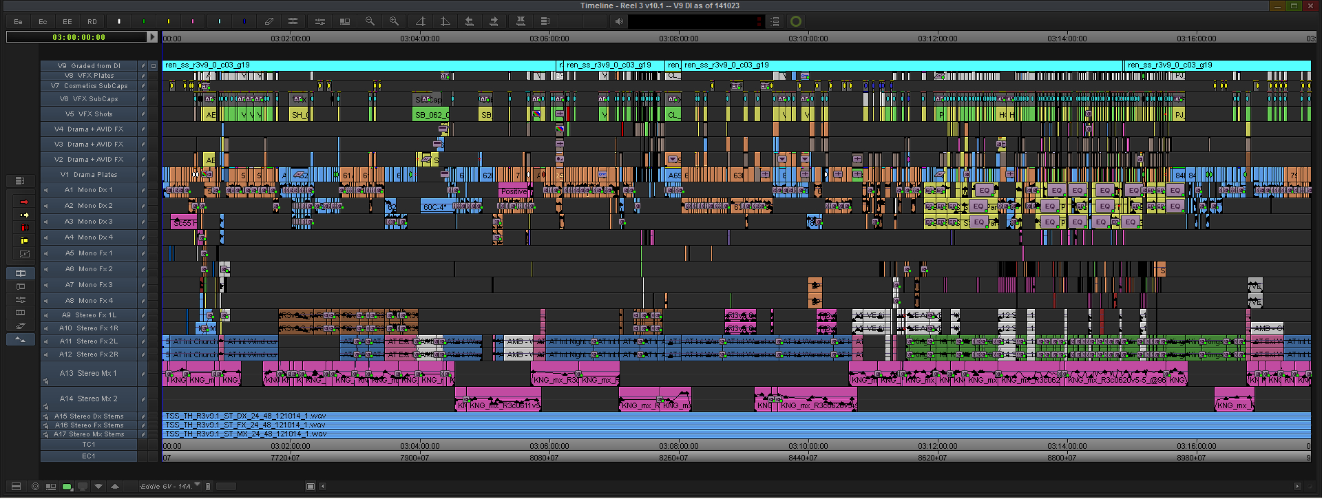 Kingsman-Final-Reel-3-Avid-MC-Timeline