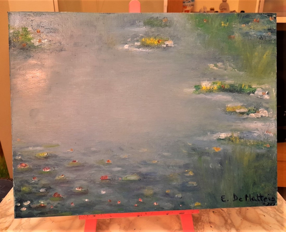 """Copy on """"Monet water lilies"""""""