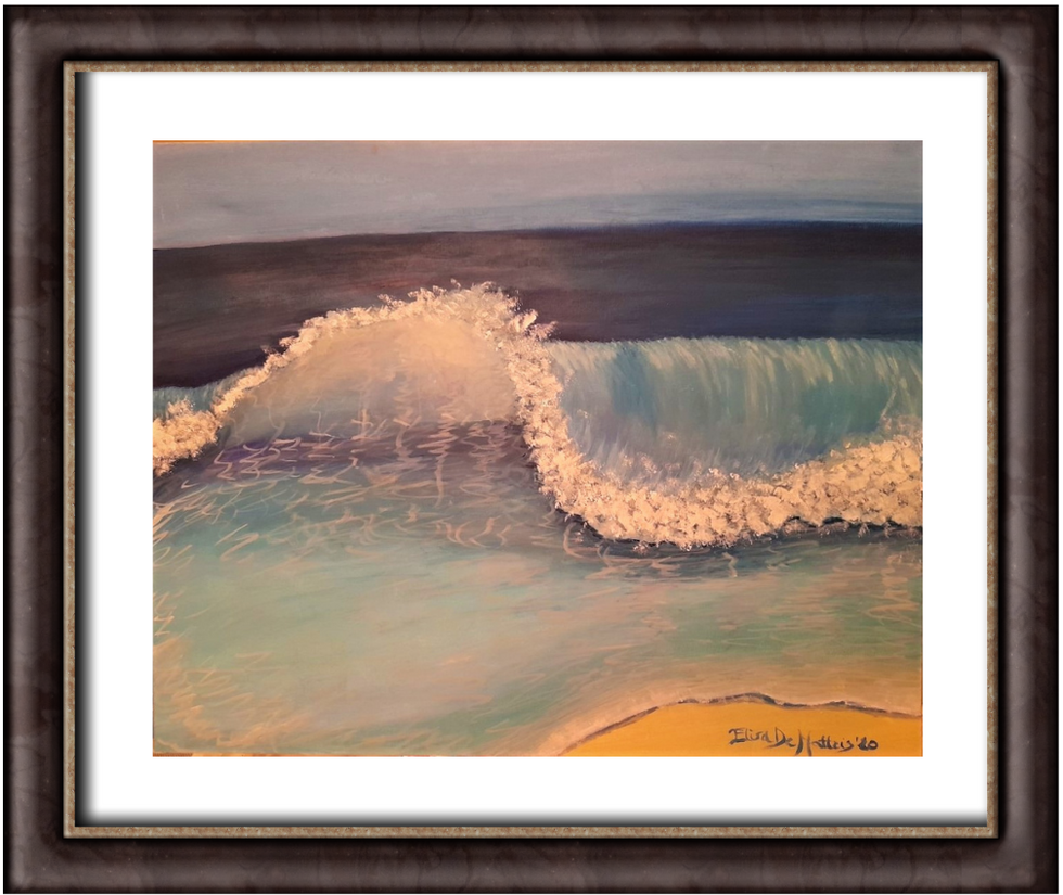 Summer sea wave