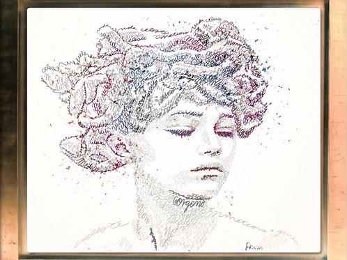 Medusa splashing her pain away