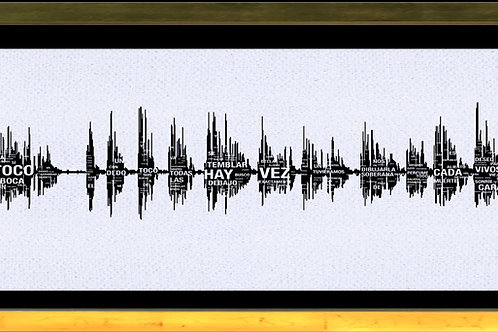 Sonogram of Julio Cortázar's voice reading Rayuela's chapter VII