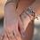 Thumbnail: Custom Morse Code Corded Bracelet