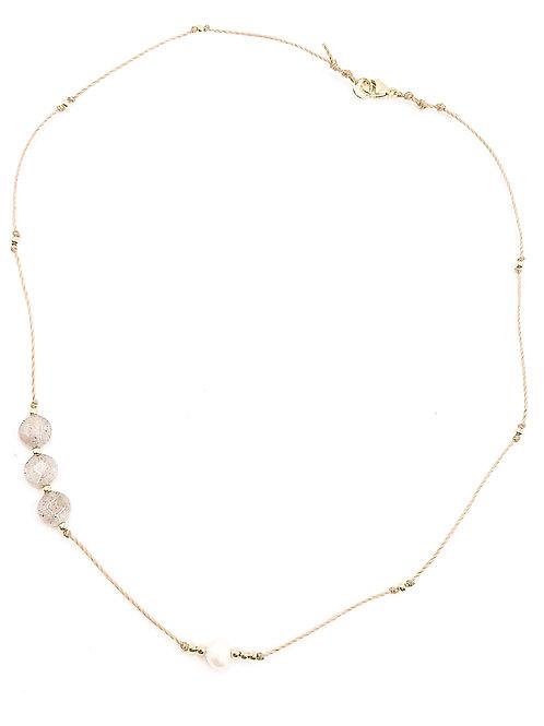 Labradorite Summer Layer Necklace.
