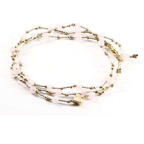 Her Golden Heart Outward, Wrap bracelet