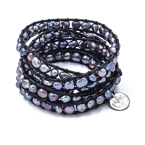 River Run Wrap Bracelet