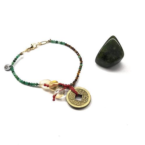 Abundantly Lucky Bracelet