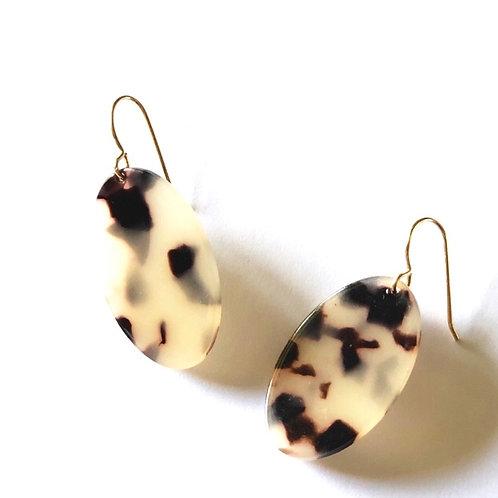 Blonde Tortoise Shell Earrings