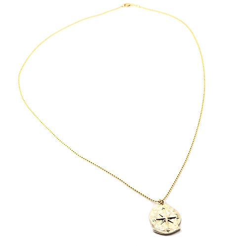 Direction of Choice Necklace (Gold)