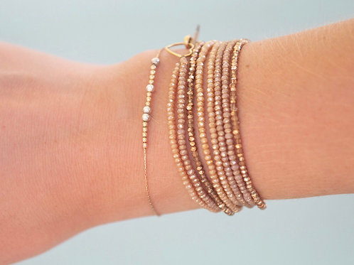 Ombré Crystal Wrap Bracelet/Necklace