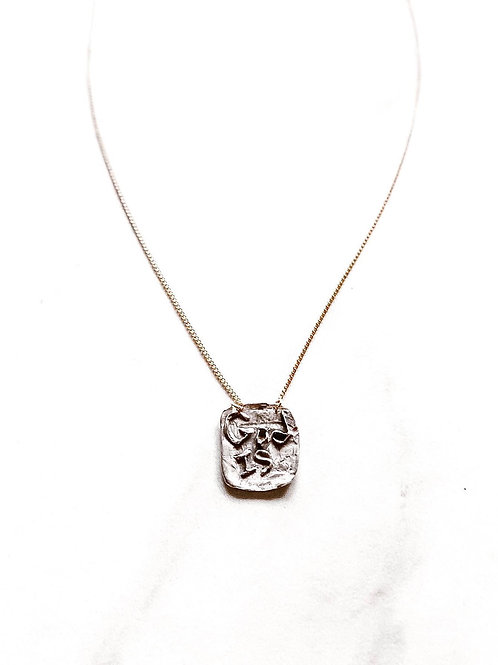 """""""God is"""" Necklace"""