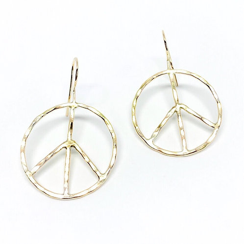 Peace of Mind Earrings (Gold)