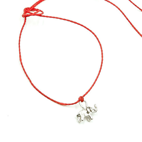 Lucky Red Talisman string bracelet