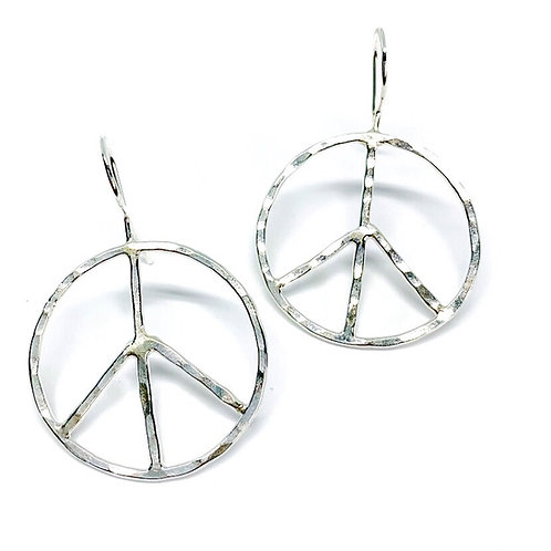 Peace of Mind Earrings (Sterling Silver)