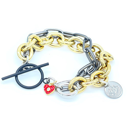 Chained to Love Bracelet