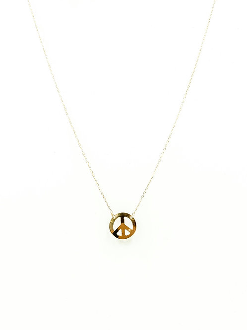 """Peace Be With You"" Layer Necklace"