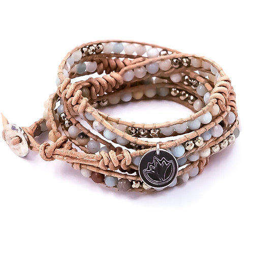 River Run Wrap Bracelet (in NATURAL)