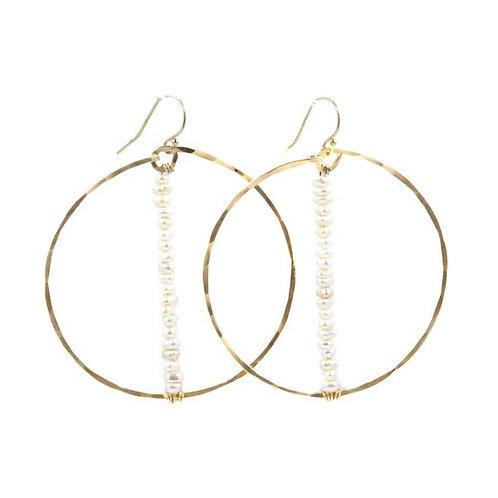 Not So Basic Freshwater Pearl Earrings