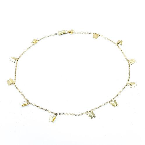 BUTTERFLIES DANCING CHAIN (necklace)
