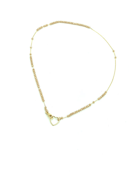 Barely There Nude Layer Necklace