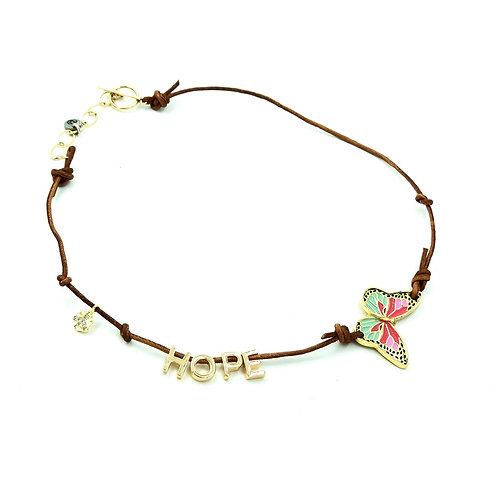 Butterfly of Peace & Hope Necklace