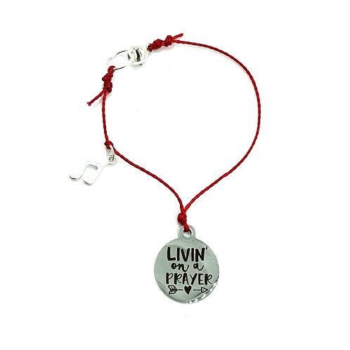 Livin On A Prayer - Layer Bracelet