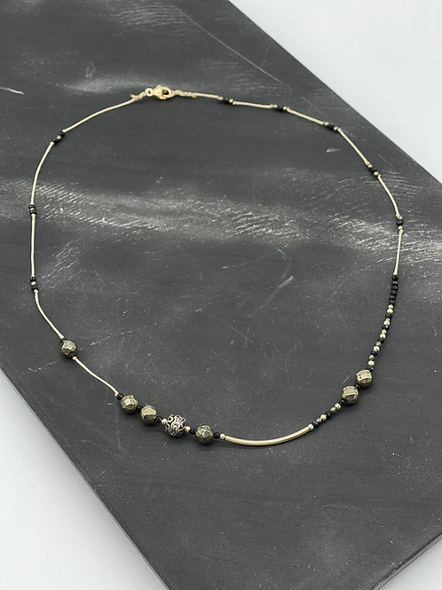 Golden Formation Layer Necklace