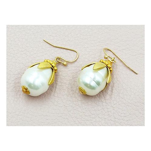 Freshwater Pearl Earring Drops