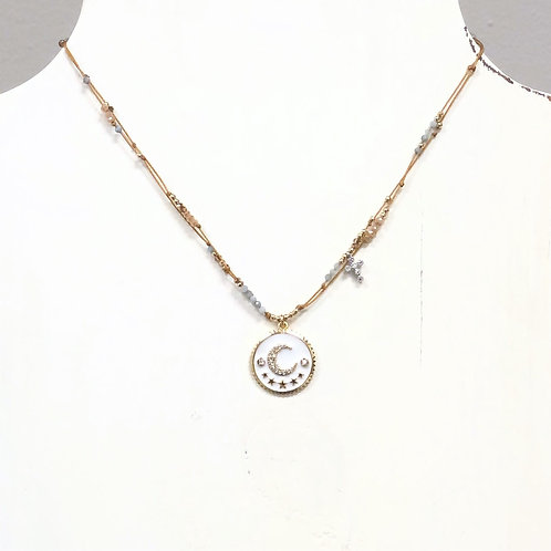 Love You To The Moon & Stars Necklace
