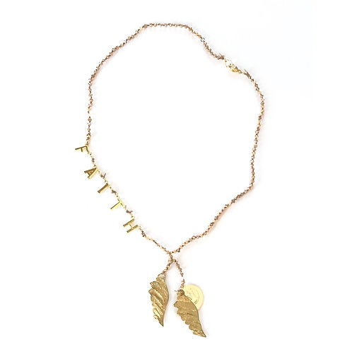 On The Wings of Faith Necklace