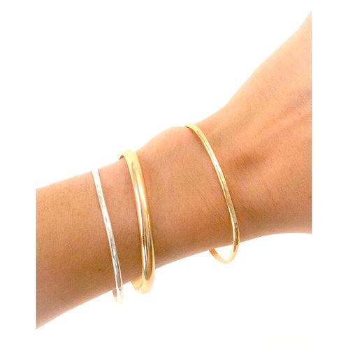 Classic Gold Stacker Bracelet