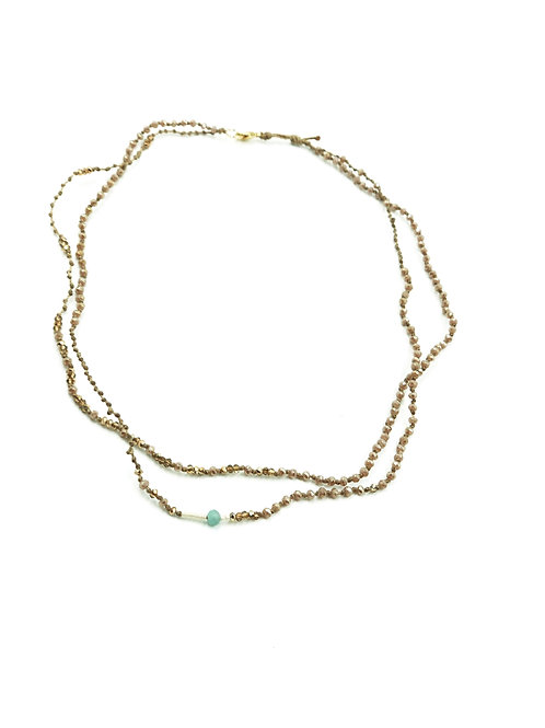 Summers Steadfast Layer Necklace
