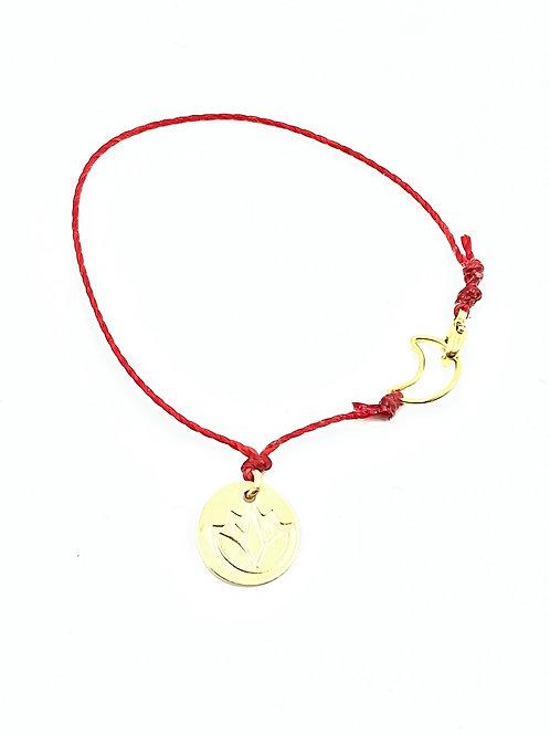 String of fate mini Lotus mindset layer bracelet