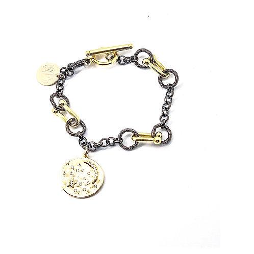 Loved Moon & Stars Bracelet