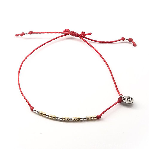 The Red String of Gratitude, Bracelet